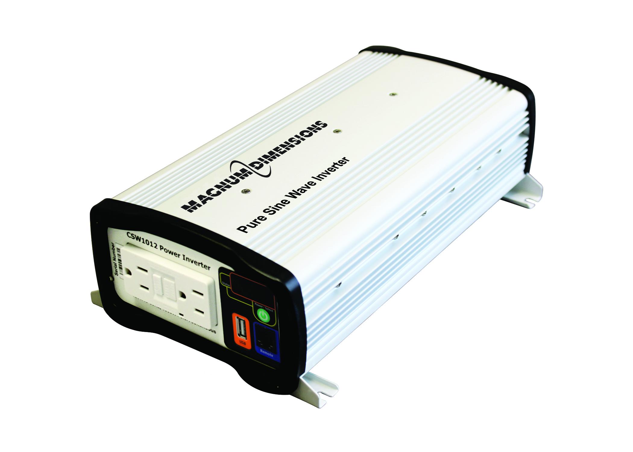 1000W 12VDC Pure Sine Inverter CSW Series | Magnum Dimensions