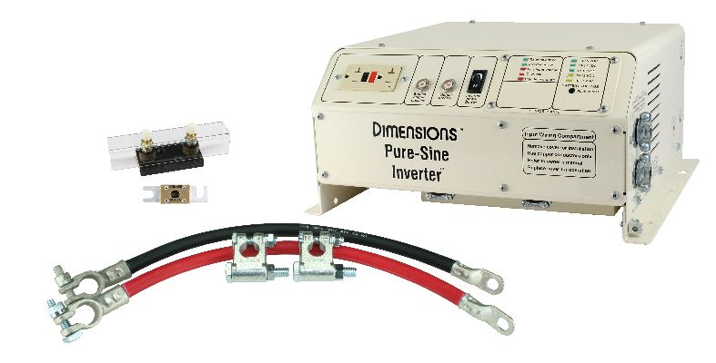 Power Inverter Installation – Inverter Wire Diagram