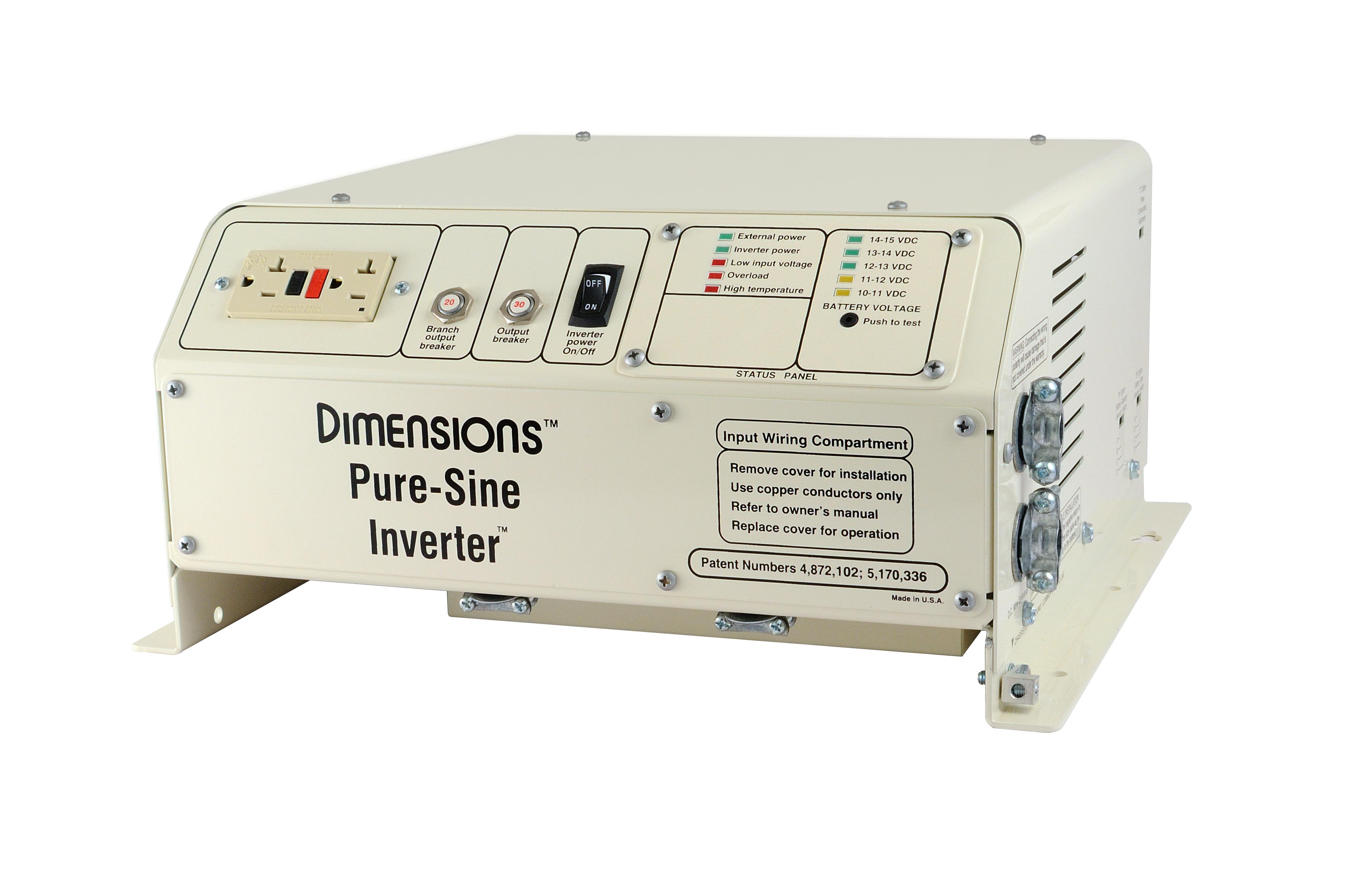 1800w 12vdc Pure Sine Inverter N Series