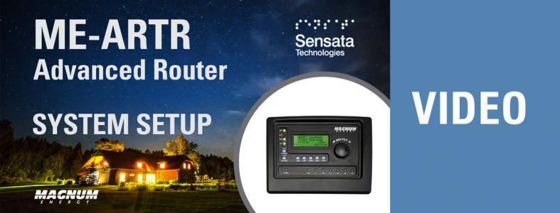 ME-ARTR Advanced Router System Setup