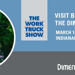 Meet the Dimensions team at the 2017 NTEA Work Truck Show.