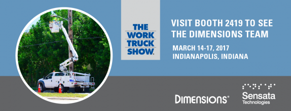 Meet the Dimensions team at the 2017 NTEA Work Truck Show.