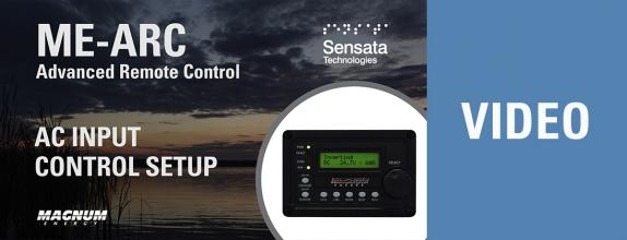 Video Thumbnail: AC Input Control Setup with the ME-ARC Remote