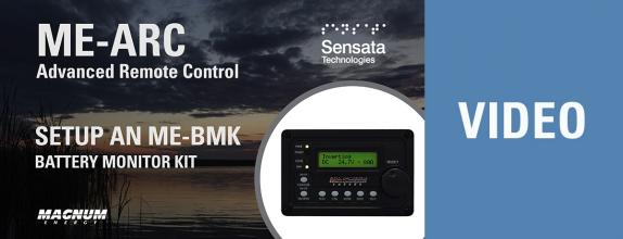 Video Thumbnail: Setup a BMK Battery Monitor Kit with the ME-ARC Remote