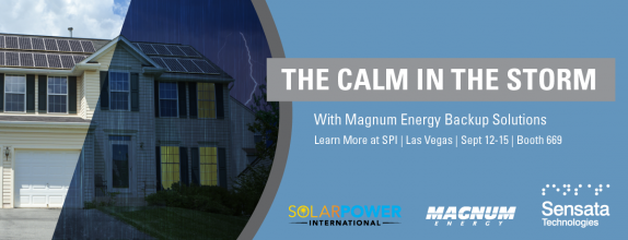 Magnum Energy brand inverter/chargers provide the calm in the storm